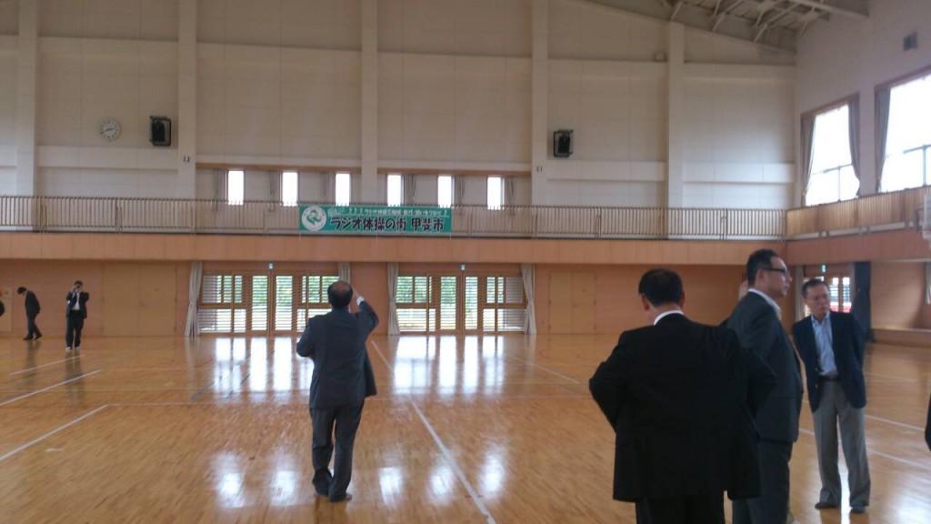 体育施設見学会2