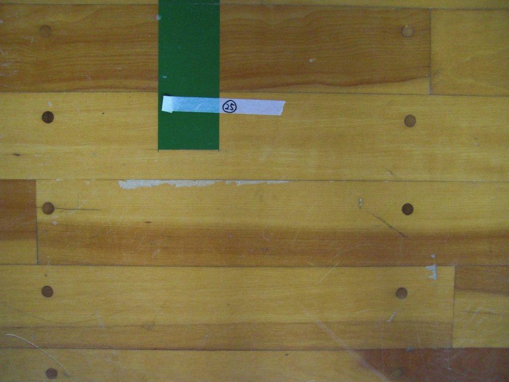 体育館木床損傷箇所点検及び補修要領
