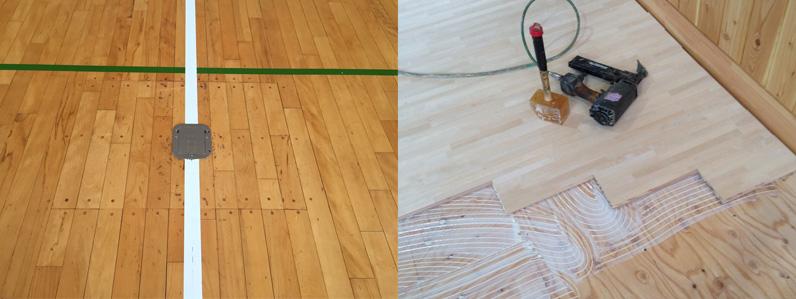 木床の動きによって金具が開かなくなることがあります
