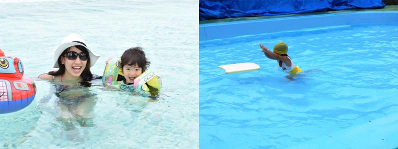 泳ぎをうまくしたいなどの希望がある場合、動作の強化に役立つものもあります