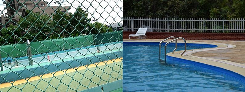 プールサイド熱くなって困っていませんか?プールサイド遮熱工法ならプールサイドを快適にします。