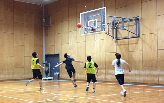 バスケットボールのようす