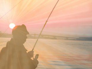 釣りが趣味です