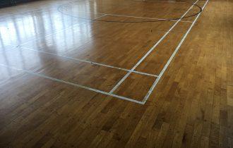 長野県体育館メンテナンス(床研磨・フロアサンディング)