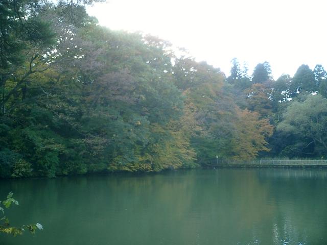 仙台城五色沼
