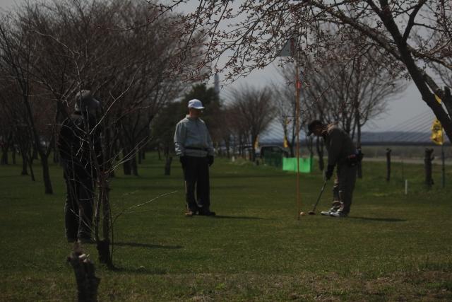 パークゴルフ風景
