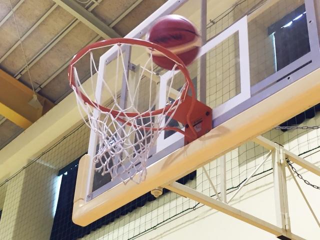 バスケットボールコートライン変更について