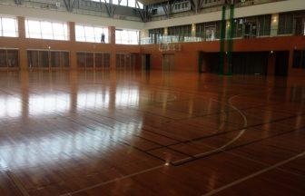体育館床の納まり