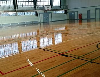 赤羽体育館メンテナンス工事